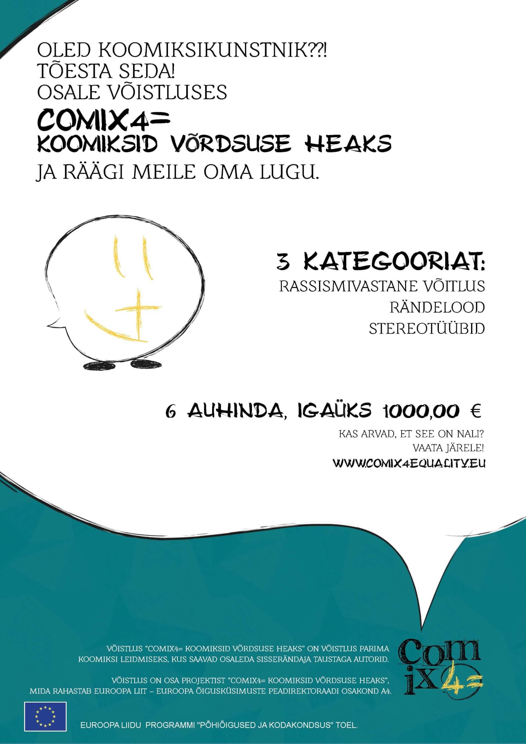 ComiX4= Koomiksid võrdsuse heaks EST-docdef-1