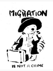 Migration- Banksy